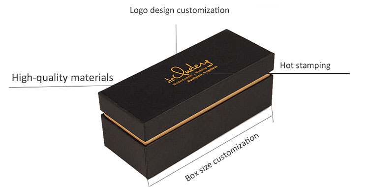 gift box with logo
