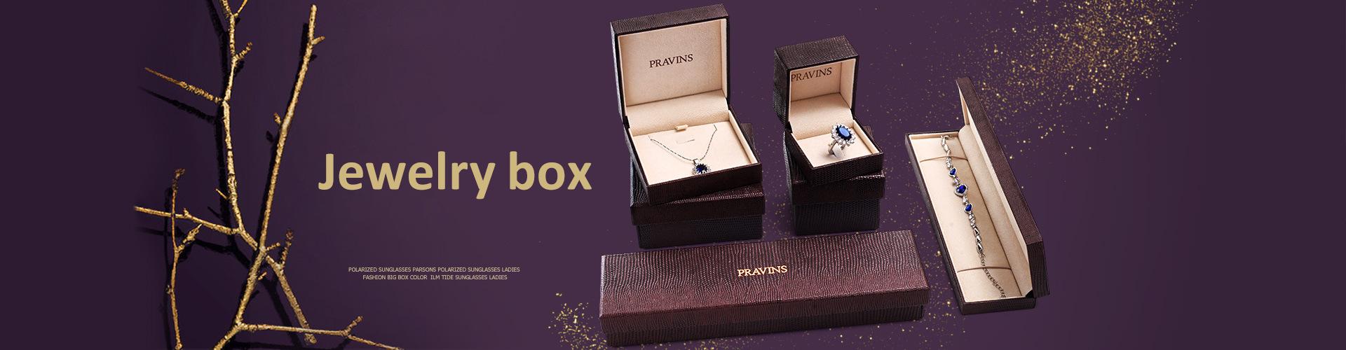 Jewelry box banner