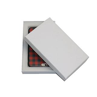 Kraft paper box with foam