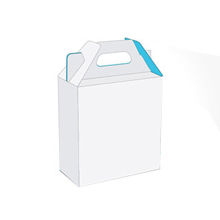 Gable box with handle