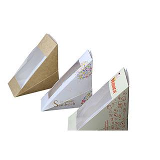 Custom sandwich packaging