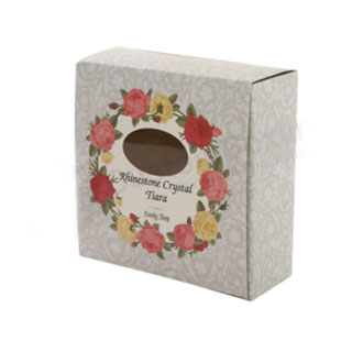 Custom tea light box