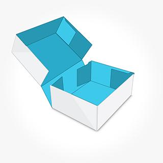 10 Four corners cake boxes