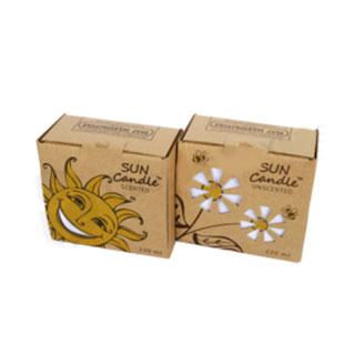 Custom kraft candle box