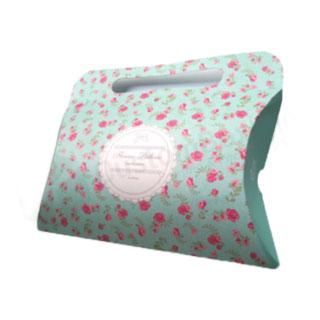Decorative pillow box
