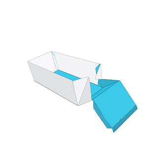 Tray and sleeve box