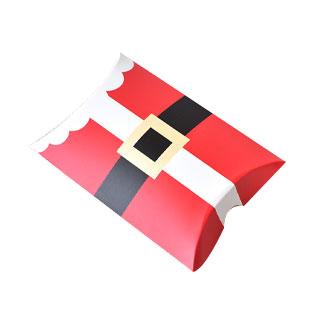 3 Christmas pillow boxes