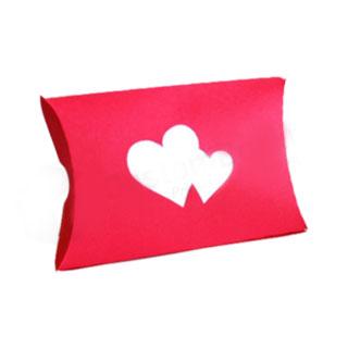 Custom printed valentine pillow box