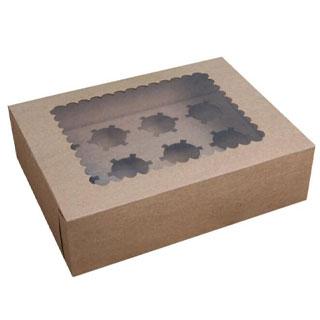 Truffle box with window