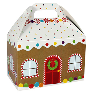 Printed paper gable box