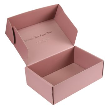 Cameo brown box E-cormmerce mailer box Corrugated box for shipping