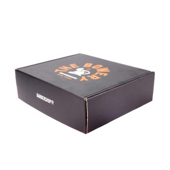 Black corrugated mailer box Customized mailer box Cardboard mailing box