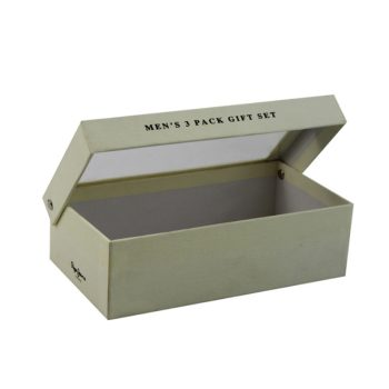 Cheap Custom design package box for sock