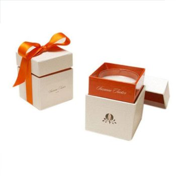 BSCI AUDIT Supplier wholesale retail cardboard candle boxes