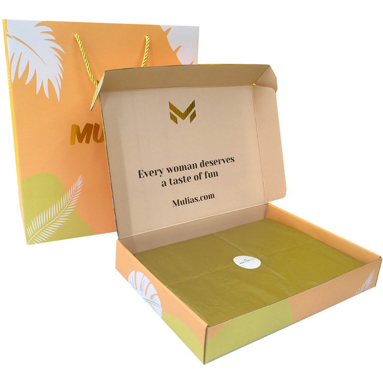Printed Mailer Boxes