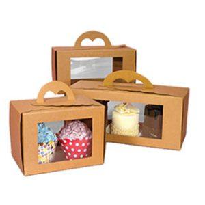 04 Custom cupcake Box