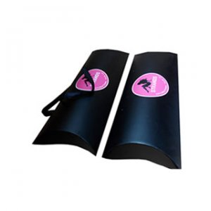 Hardcover hair extension box