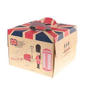 Custom birthday cake box
