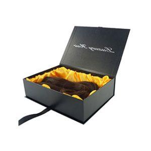 Hair extension packaging box