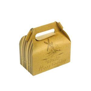 Kraft gable box