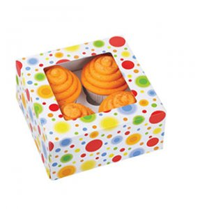 Customcake box with window
