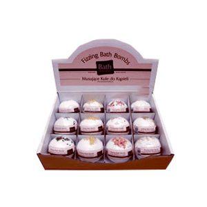 Bath bomb display box