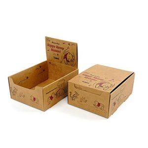 Kraft display box