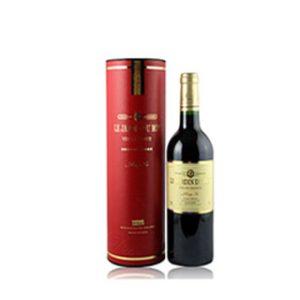 Wine tube box