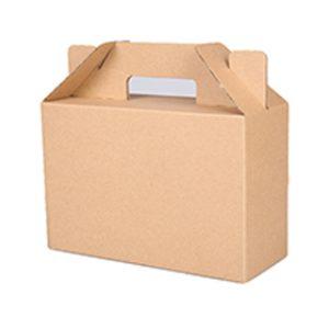 Custom large paper Gable Box