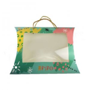 Pillow boxes with handle