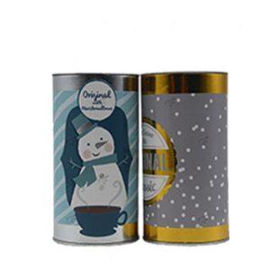 Tin can tube box