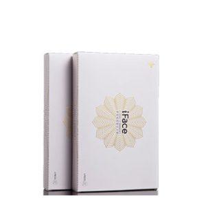 Skin whitening cream box