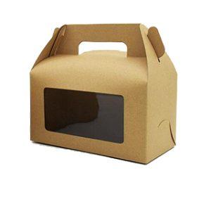 Window cut gable box