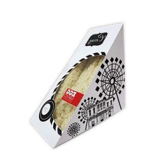 Custom die cut sandwich box