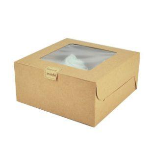 Custom cupcake packaging box