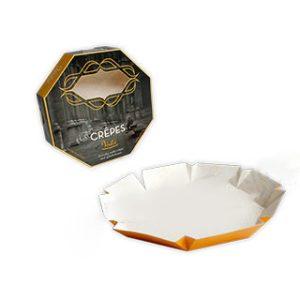 Eight corners crepes box