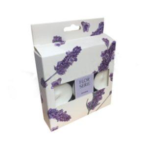 Custom candle box with handle