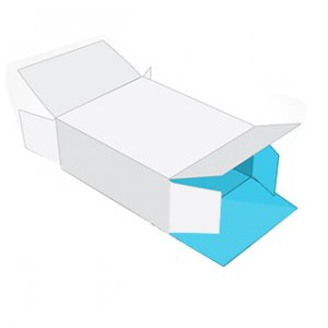 Hexagon boxes with seal end bottom