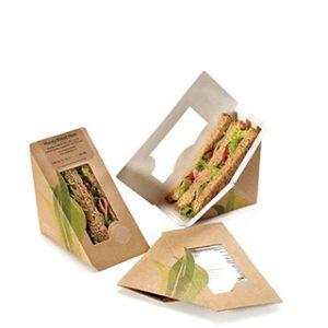 sandwich box with window