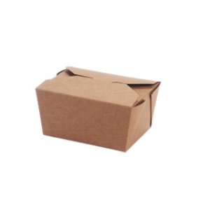 4 Kraft take out containers