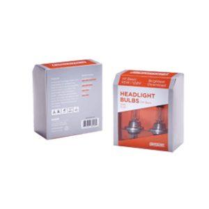 Head light bulbs packaging