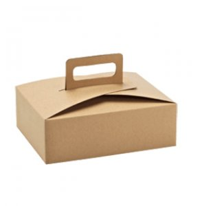 5 Custom kraft handle box