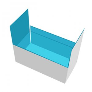 6 Corrugated shipping box