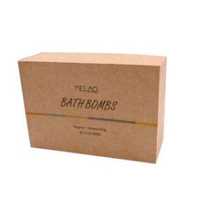 Corrugated bath bomb box