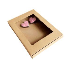 7 Custom kraft cookie box