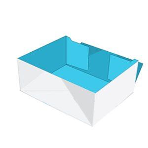 9 Four corners tray