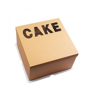 Kraft cup cake box wholesale
