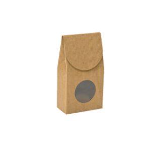 9 Kraft pinstripe gourmet window box