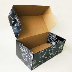 Kraft paper single-sided printing corrugated box