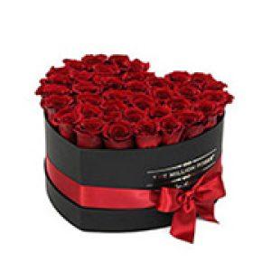 Heart shape flower box